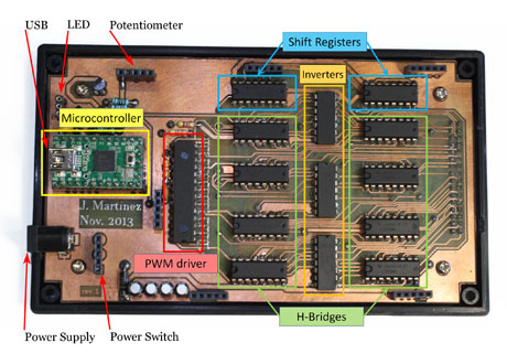 Second prototype PCB