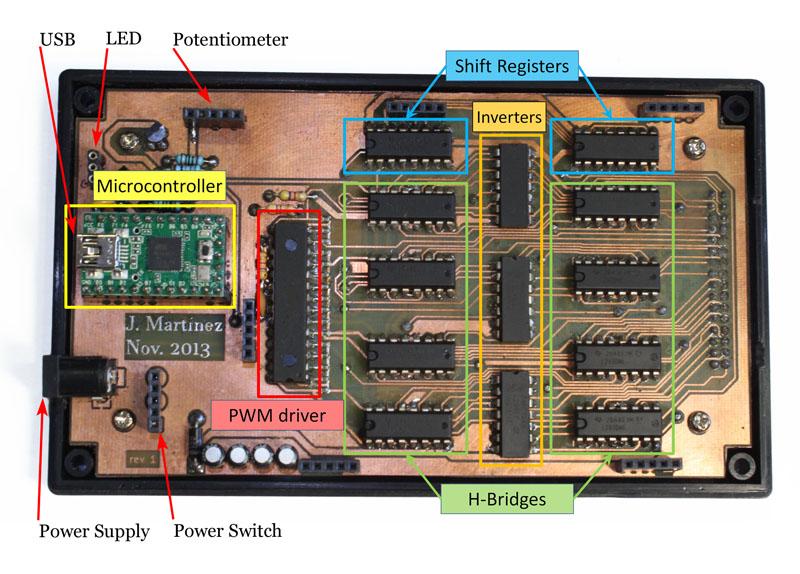 Vitaki electronic controller PCB
