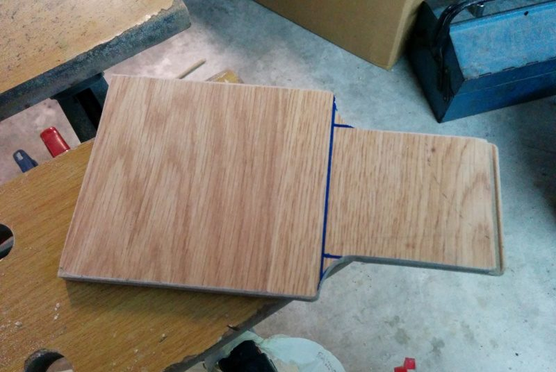 Wood back panel