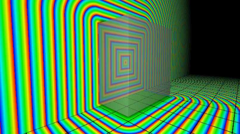 Cube exact SDF