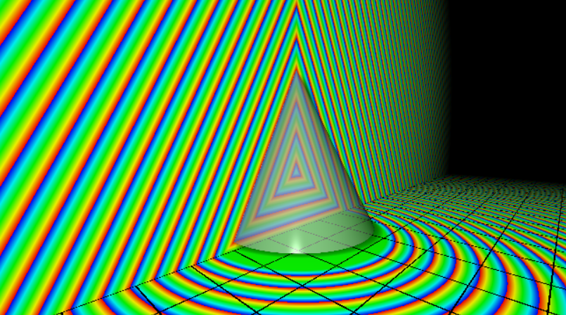 Cone approximation SDF